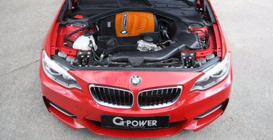 Ателье G-power выкатило 380-сильное купе BMW M235I