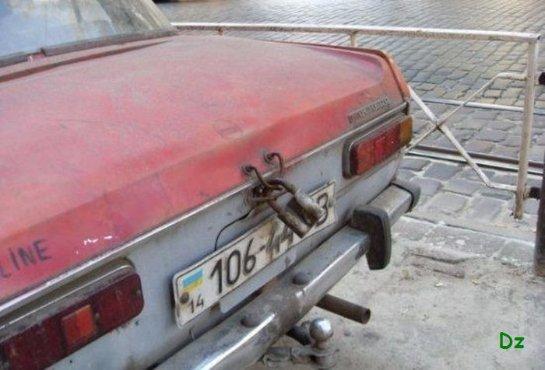 Число автомобильный краж в Украине растет