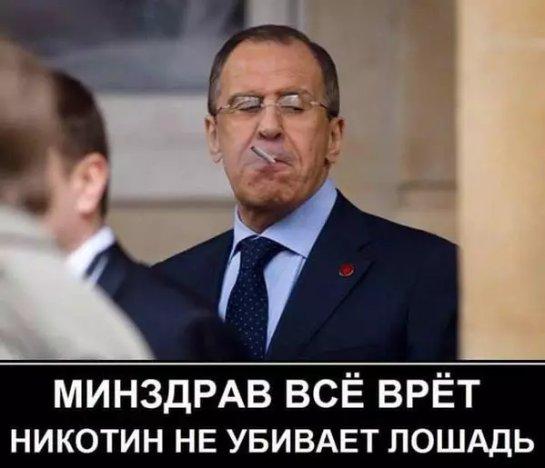 «Лошадиного» министра Путина с его вечной сигаретой высмеяли в сети