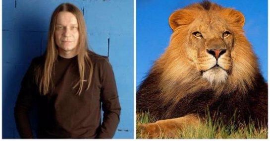 Животные-двойники известных личностей (фото)