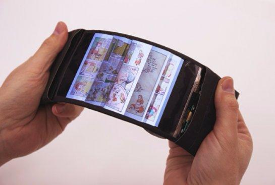 Создан первый в мире гибкий смартфон