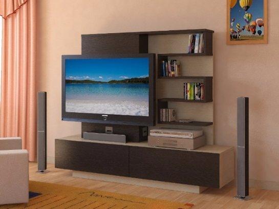 Качественная мебель: кронштейны и тумбы под телевизор