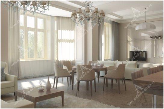 Наиболее востребованные стили в оформлении больших гостиных