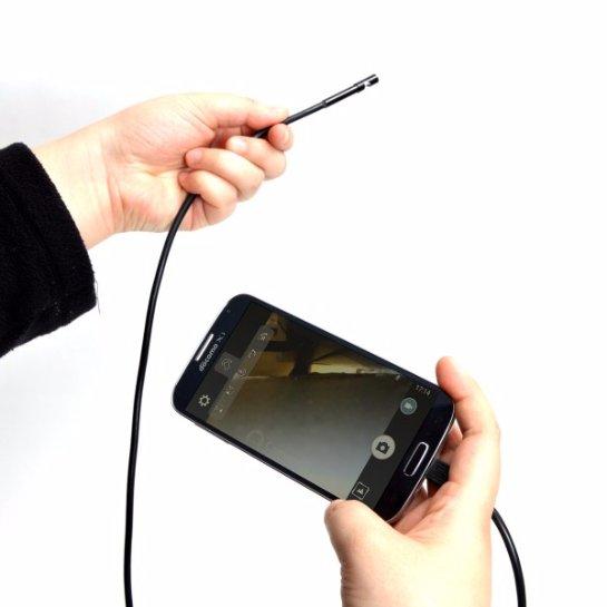 Thanko MCSFAD01- недорогой эндоскоп для смартфонов на ОС Android