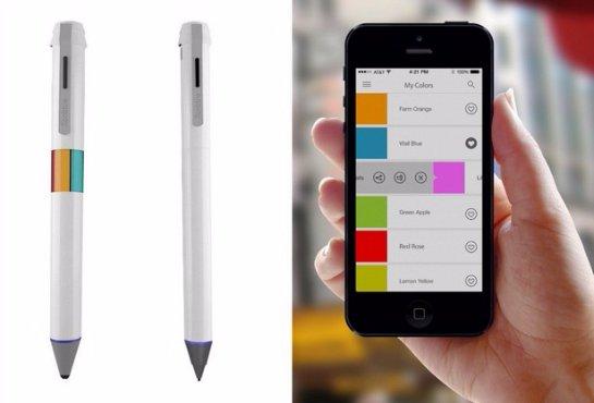Scribble- «умная» ручка, которая пишет 16 миллионами цветами