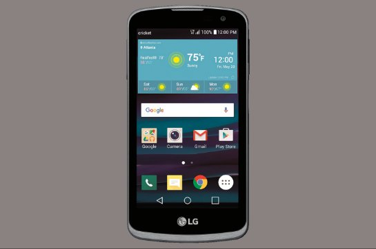 LG Spree- бюджетник с приятной изюминкой