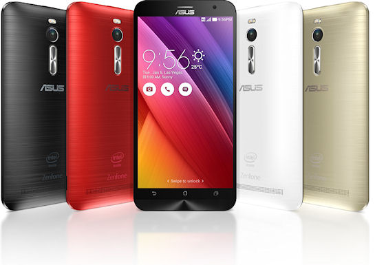 Asus Zenfone 2 ZE551ML – инновации в каждой детали