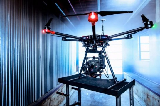 DJI Matrice 600- дрон для съёмки кино