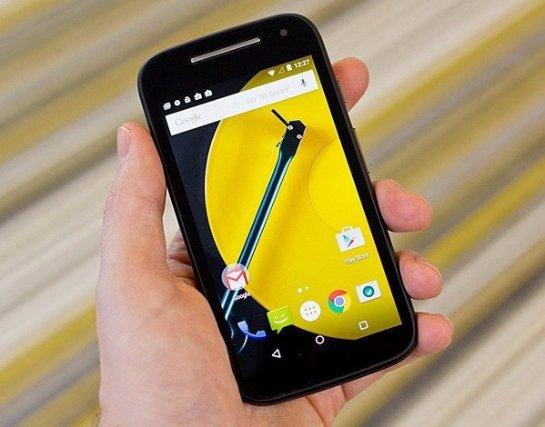 Motorola разработала третье поколение «умного» телефона Moto E