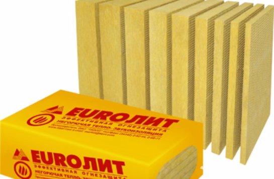 EURO-ЛИТ – инновационный, уникальный и универсальный материал для защиты от пожара, шума и для сохранения тепла внутри помещения