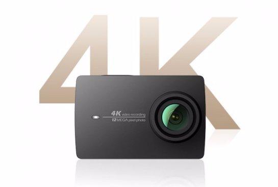 Xiaomi представила новую экстремальную камеру Yi 4K Action Camera 2