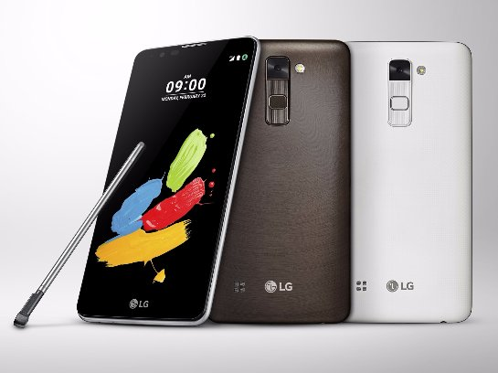 Вышел на украинский рынок смартфон LG Stylus 2