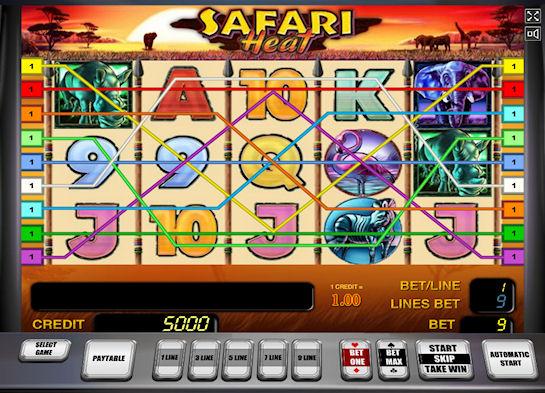 Виртуальный мир для любителей азарта