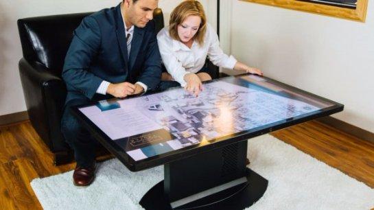 Ideum создала «умный» кофейный столик