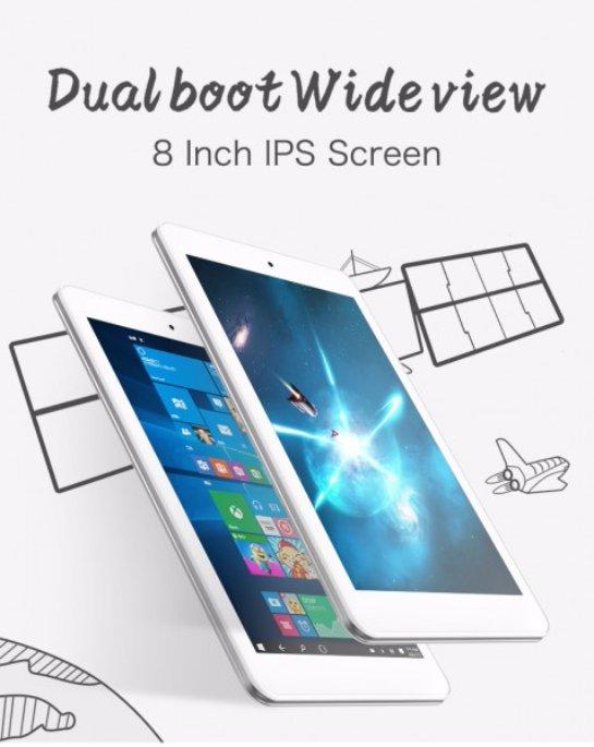 Cube iWork 8 Air- недорогой планшет с хорошим разрешением дисплея