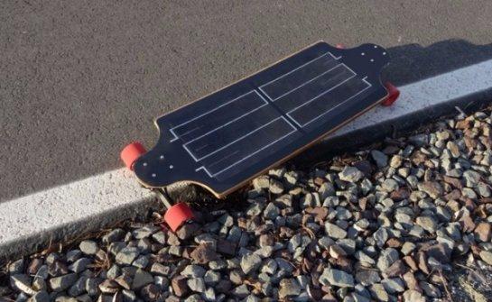 Представлен электрический скейтборд YoungBoard