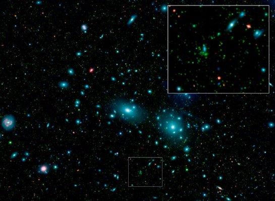 В космосе нашли две галактики карликового размера