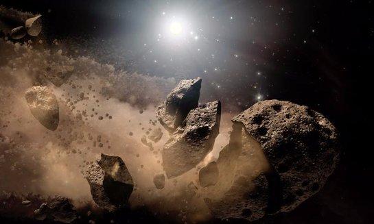 В 2020 году люди смогут использовать ресурсы, добытые на астероидах