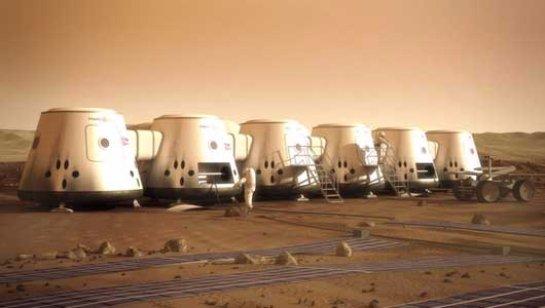 Вамериканской пустыне начинается очередная марсианская миссия