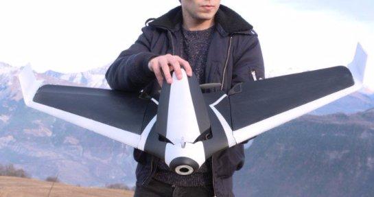 В мире скоро появится игрушка-беспилотник, позволяющая увидеть мир глазами птиц