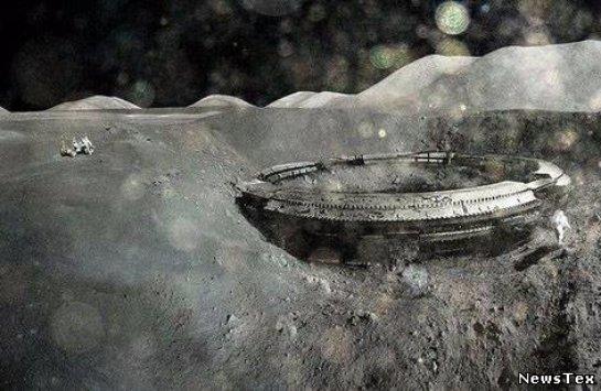 На Луне нашли необычную постройку