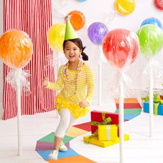 Воздушные шары могут убить ребенка