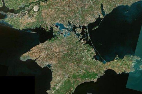 Крымский полуостров начал передвигаться к российской части материка
