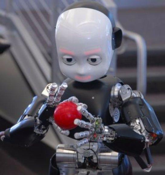Тоёта создали робота-ребенка