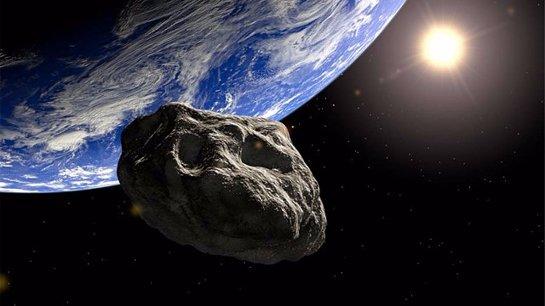 Земля чудом избежала столкновения с астероидом