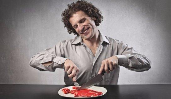 Чтобы быть умным надо есть мясо