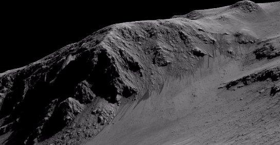 Ученые думают, что рельеф Марса мог формироваться не под воздействием воды, а под влиянием соленых ручьев