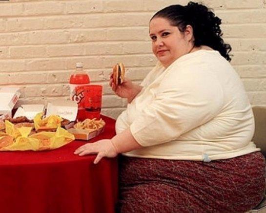 Люди с лишним весом в своем большинстве не признаются, что им надо худеть