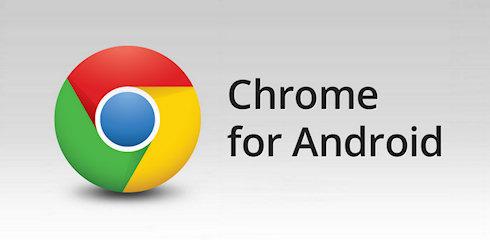 Мобильный Chrome для Android доступен на GooglePlay