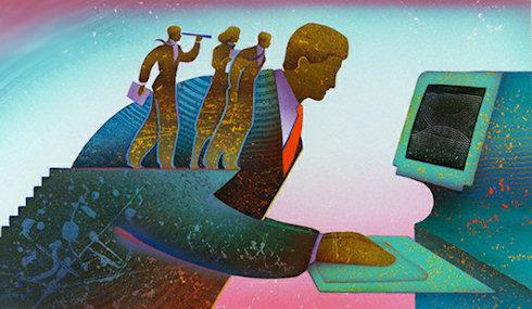 Доля поискового трафика в Рунете уменьшается