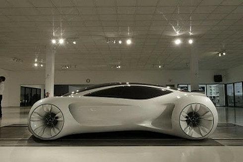 Mercedes Biome Concept – идеальная фантастика