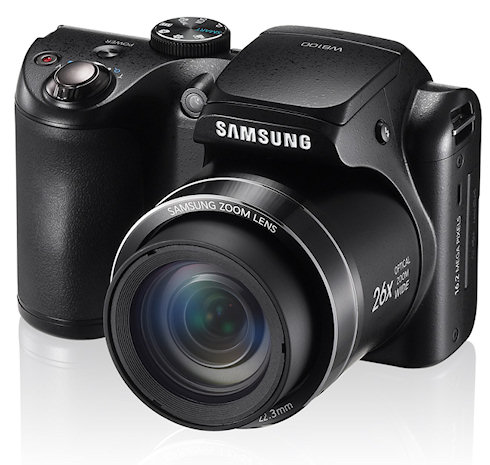 Обновленная фотокамера Samsung WB100
