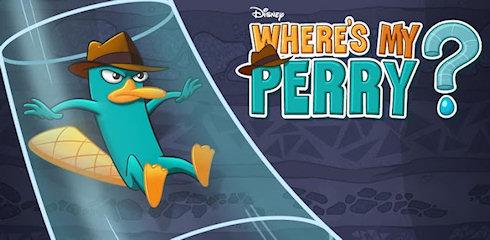 Игра Где же Перри? от компании Disney