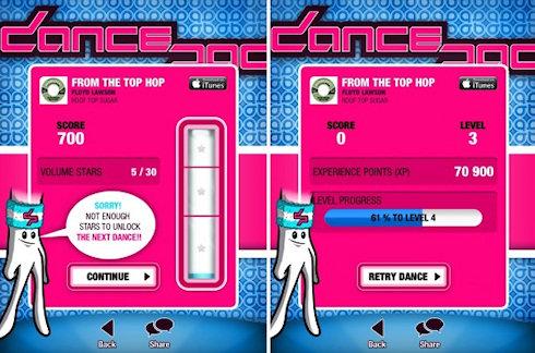 DancePad – танцы для пальцев