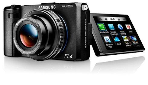 Компактная фотокамера Samsung EX2F