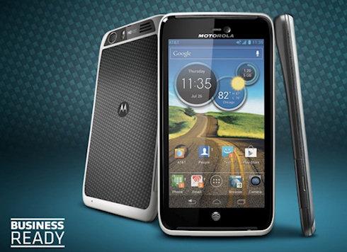 Motorola Atrix HD в кевларовой обертке