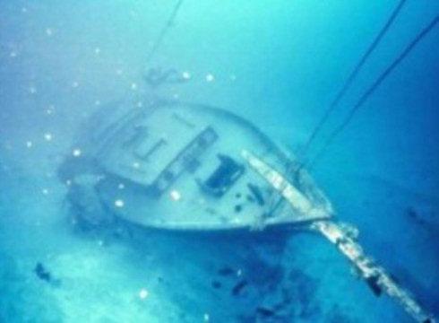 У берегов Черного моря обнаружены три затонувших корабля