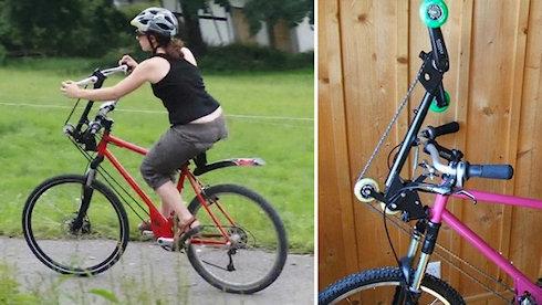 Велосипед RaXibo с ножным и ручным приводом