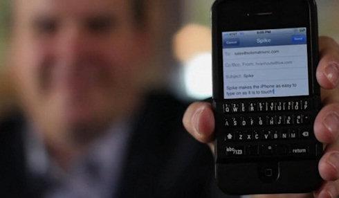 Физическая клавиатура Spike для iPhone
