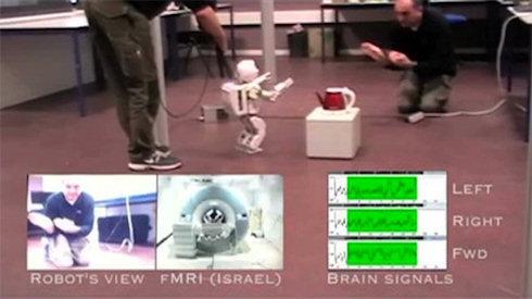 Сила мысли управляет роботом