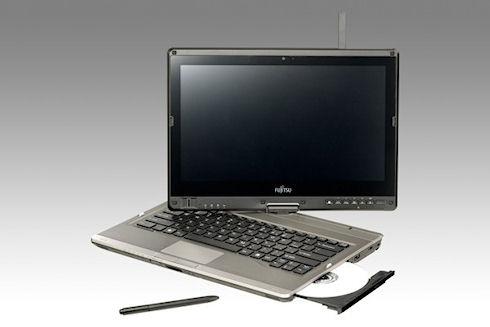 Ноутбук Fujitsu LIFEBOOK T902 с поворотным дисплеем