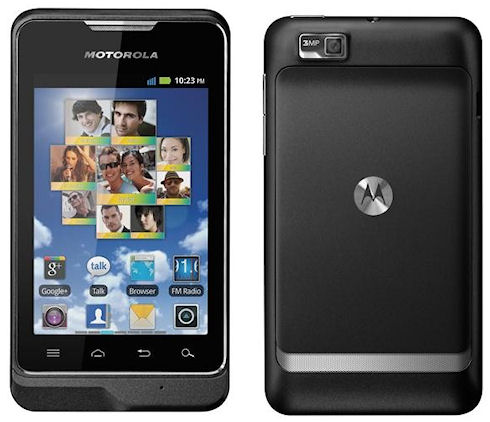 Смартфон Motorola Motosmart за 150 долларов