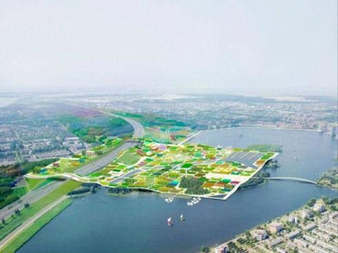 В голландии появится город сад