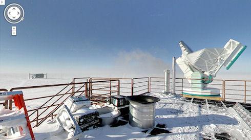 Виртуальная прогулка по Антарктике вместе с Google