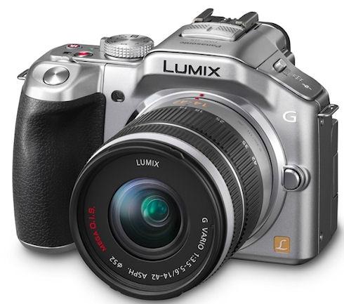 Беззеркальная камера Panasonic Lumix DMC-G5