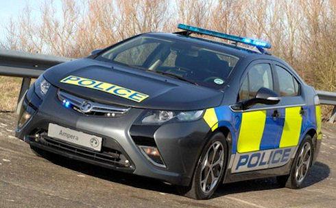 Электрокары на службе полиции